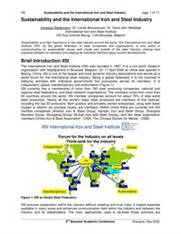 77-paper-sustainability and the international iron and steel