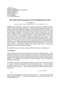 59-paper-the nature and consequences of grain refinement in