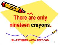 m5unit1there are only nineteen crayons