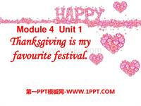 m4unit 1 thanksgiving is my favourite festival